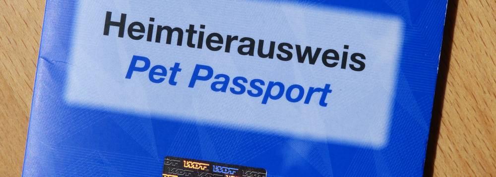 Einreise-Dokument Heimtierausweis