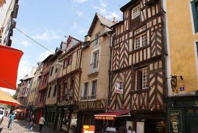 Altstadt in Rennes