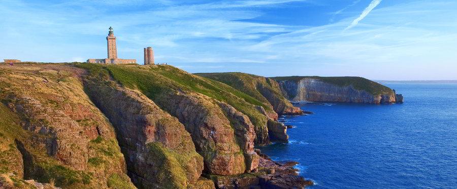 Bretagne Urlaub Top-Ziel Cap Frehel