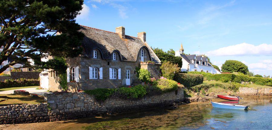 Ferienhaus am Meer in der Bretagne
