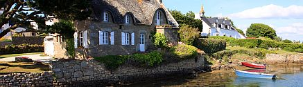 Bretagne Ferienhaus am Meer